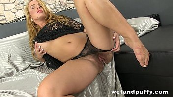 blonde cute haired dancing curly The chitting wife