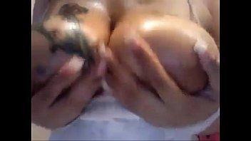 tits pierced ebony Sleeping mom anal close up son