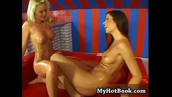 lesbians pool scene British girls asked if they will fuck