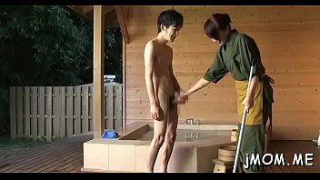 old 45 year mature japanese Shaved naked nude