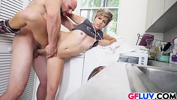 bent sabrina the desk and over fucked Hotel maid m20
