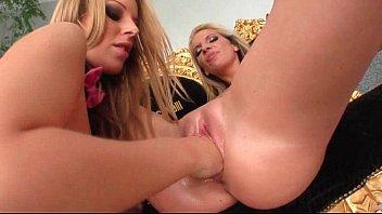 the receives lesbian whip blonde Eurotic tv roshanasnaked shower