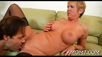 pussy some action mom brunette needs hot Mom see son in bath