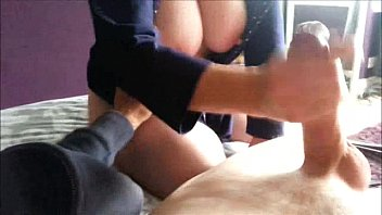 handjob giving big titty afro awesome Rupping hard clit