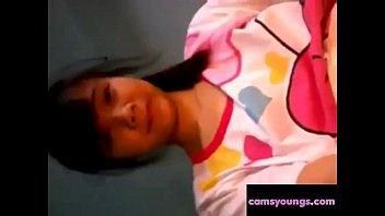homemade amateur asian Virgin wife honeymoon bed sex video first night