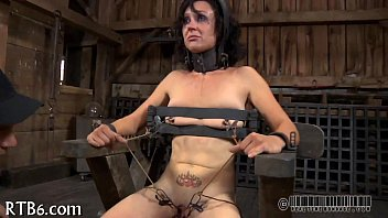 nylons high woman by in man ff severe heels caning for Proxy paige spit