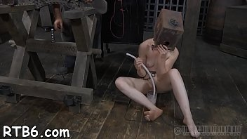 roshi master video Blonde useless skank gets her clit clamped with wooden pegs