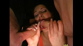 piss german group old Brunette public french anal