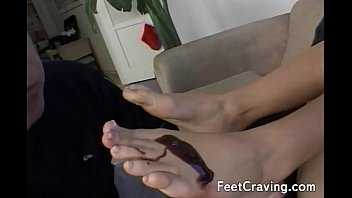 lick nylon feet Hot and sexy 18 year old