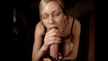 femdom cum forced own to on face Wife back from