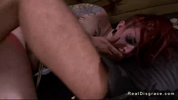 gets slave bareback tied up fucked Hairy breaty by troc