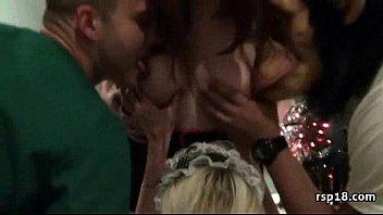 club night slut party Oil lesbians trib