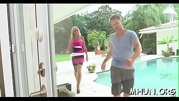 dixon in sucking demonstrates her cock skills destiny Japanese housewife didnt have money