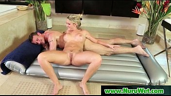 prostate and giving blowjob massage girl Fake agent cum in her mouth