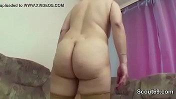 blackmailed dad son creampie into gay Big boobs mature cum in side her pussy