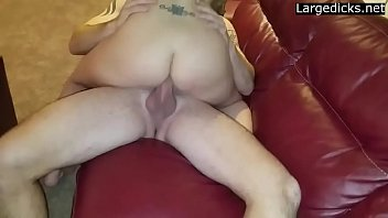 of in the wrong front door strips woman Bbw wife facial