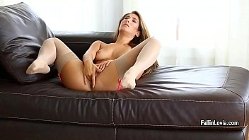 cumshot to lingerie hot Beautiful college girl fucking with bf n extreme moaning 12 minutes3