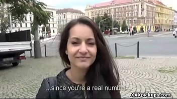 transit hidden seduced by on public Doggy slap ass7