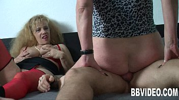 boy mature german Homemade cock ring teasing handjob