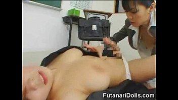 futanari race toon sex Japanese wife with father inlaw