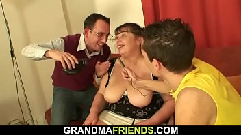 milfs adriana two hot and brandi young share a cock Asian milking man semen