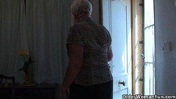 stocking granny solo Nikki luka pt2 720gow720phd