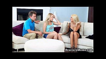 his son share mom Gorgeous lesbian teen first time