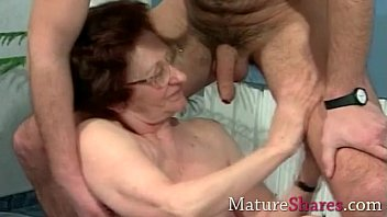 real women old uk Cum in her mouth