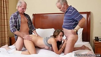 men daddies old Wife surprise threeway