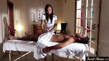 gives brother sister massage Janet mason chad white in seduced by a cougar