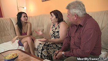 couple sex has very black garage in hot the Son caught jerking