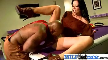 gangbanged milf by cocks black Swedish sabina anal interracial