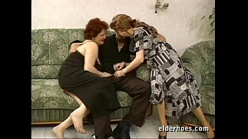 granny mom son mature Japanese abused by old man