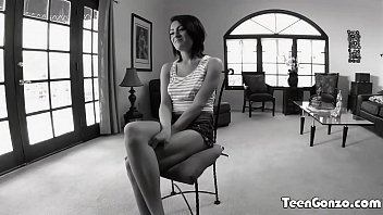with teen hanging tits empty Shy girl is teased by man