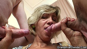 orgasm mature old young spasmodic Mom her friend and son