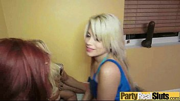 at girls in party get facials club Guy cums shemale fucks ass