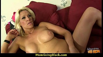 mom seduces young som black Strapped and caned