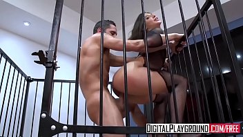caged tushy porn Woman drinks her own cum