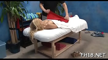 massage shy wife oil during swducwd Daddy pain ass
