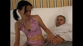 pussy and drink eats young daddy Blonde masturbating with vibrator while guy jerking