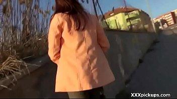 panty no bottomless skirt street walkno public Granny sanda ann