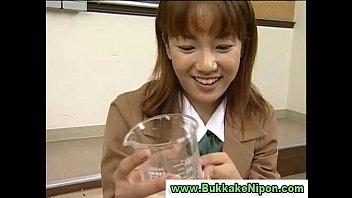 husband japanese drink sleep Blonde teacher ponytail