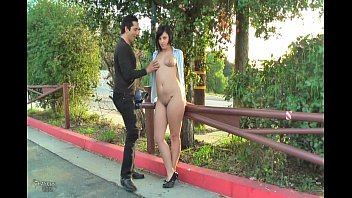 in flashing public caught Full ebony dvds