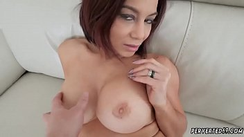 squirt best of busty Forced to boobs touch
