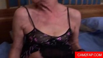 old teasing granny Blond bent over the sofa and fucked hard