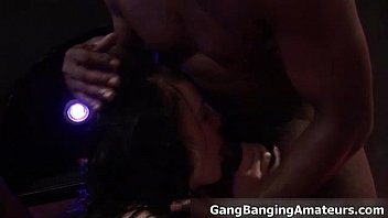 in gangbang 2 girls Slut wife being used