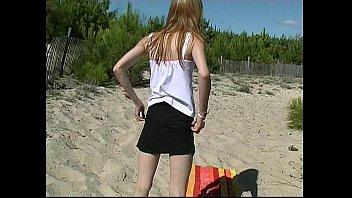 beach bikiny7 car blonde Fuck virgin teen sleep cum inside her