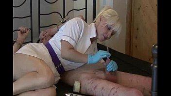 in her makes pee slave mistress bathe Son shower pierced