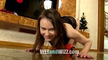 mistress makes pee her in bathe slave Parking d asian