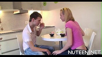 to asks he her kiss Teen teasing edge
